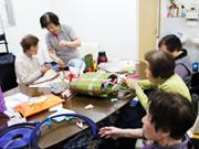 レクリエーションの参加は、カラオケ・クッキング・編み物・美容など多彩。お花見や地域の夏祭りへの参加など、季節に応じたイベントも随時計画中!!